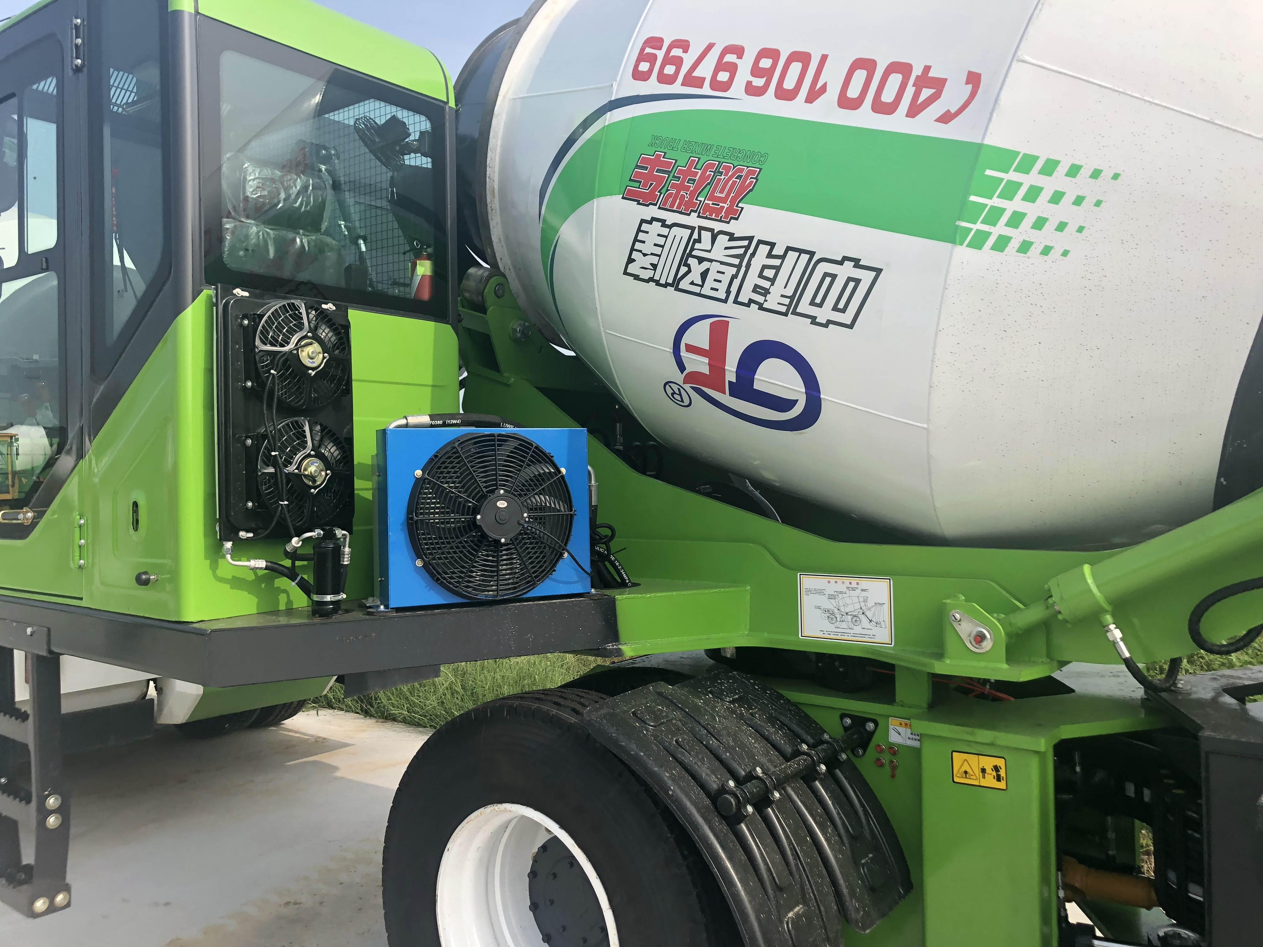 使用自动混凝土搅拌机发动机错误情况下会有什么影响?